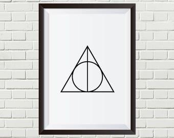 Harry Potter - Deathly Hallows Symbol | Digital Download
