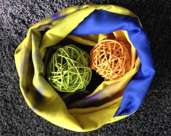 Loops and silk scarves