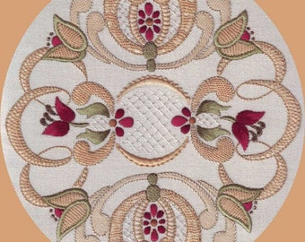NL 07 - Pattern Download | Digital Download | PDF Embroidery Pattern Download | Digital Download