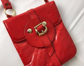 1960's Retro Red Shoulder Bag