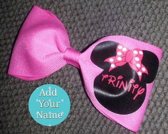 Minnie Mouse Bow: Add A Name
