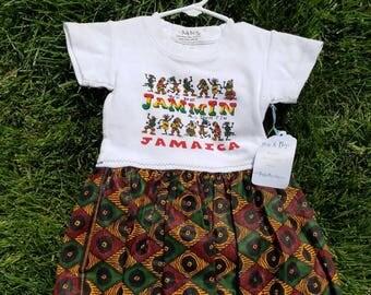 Jammin' in Jamaica Dress size 18m
