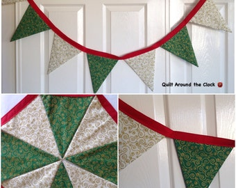 Christmas Bunting | Banner | Flags | Home Decor | Home and Living