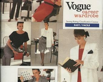 Vogue 2023       Misses Jacket, Top, Dress, Skirt, Pants    Size 18,20,22   Uncut