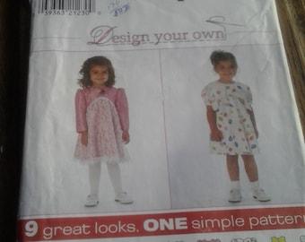 Simplicity 7993, Toddler's Dress