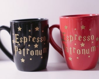 Espresso Patronum Harry Potter Inspired Coffee Mug