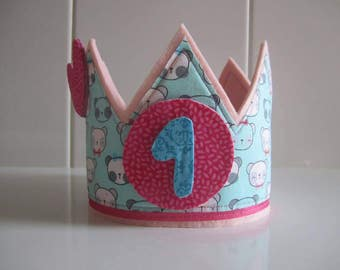 Birthday Crown - Crown birthday - gift girl - Personalized Crown - Happy birthday - anniversary gift