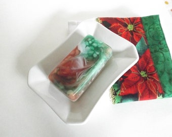Decorative Christmas Gift Soap  Hostess Gift Christmas Soap Holiday Decor, Stocking Stuffer