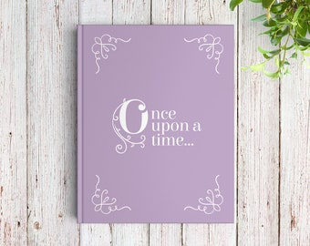 Fairytale Wedding Guest Book, Once Upon a Time Book, Custom Guest Book, SKU: GB 081