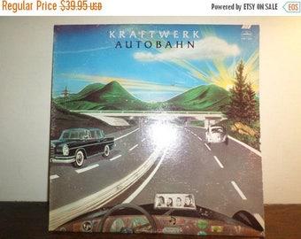 Save 30% Today Vintage 1974 Vinyl LP Record Kraftwerk Autobahn Near Mint Condition 9613