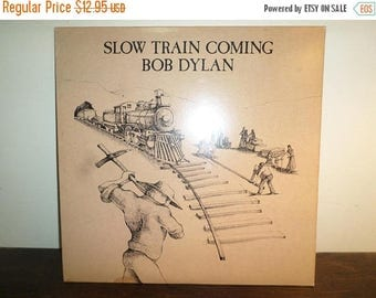 Save 30% Today Vintage 1979 Vinyl LP Record Bob Dylan Slow Train Coming Excellent Condition 11136
