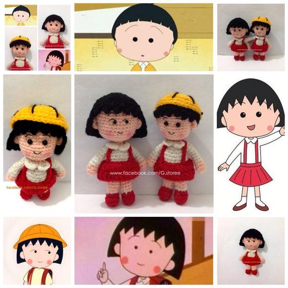 Chibi Maruko Chan Amigurumi Pattern