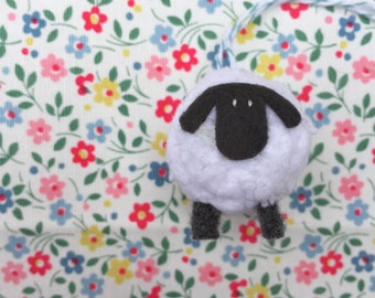 Little Lamb Hand Knitted Decoration