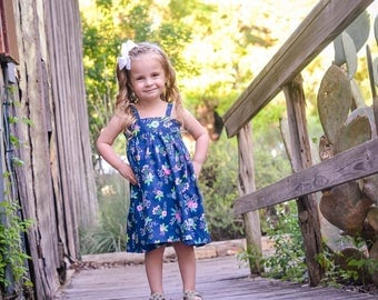 Baby Sundress - Simple Baby Dress - Toddler Sundress - Baby Summer Dress - Baby Boutique Dress - Baby Girl Outfit - Baby Strappy Dress