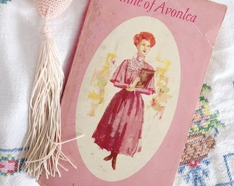 Anne of Avonlea by L.M. Montgomery (1968, Paperback), vintage book, Anne of Green Gables series