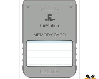 Memory Card - A5 Greeting Card