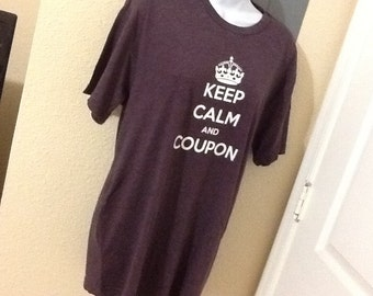 Keep Calm and Coupon  Tshirt
