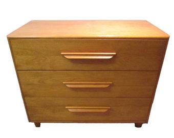 Mid Century Modern Heywood Wakefield Dresser/Chest-- Champagne
