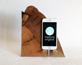 iPhone  # 71  .. Corcovado Oak iPhone Dock ( Samsung also )