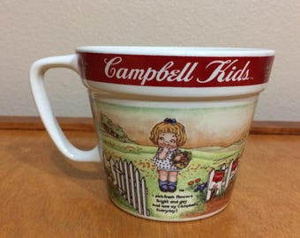 Campbell's Soup Mug - By Westwood 1998 Campbell's Kids - MmMmGood Campbell's Soup
