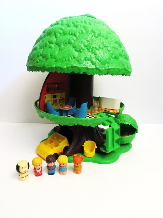 Toys For Tots Family Request : Family tree tots pop up house with accessories by general