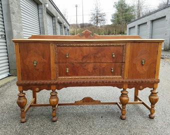 Antique Buffet Media Console Sideboard Kitchen Island Bathroom Vanity Server Buffet Credenza Media Center Changing Table