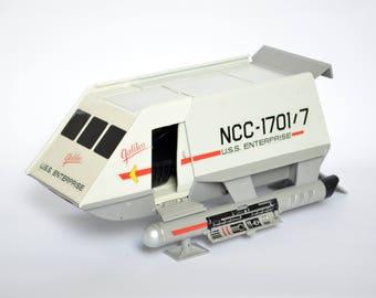 vintage USS ENTERPRISE Galileo 7 ncc-1701/7 Shuttlecraft Plastic Model Toy Star Trek 1996 Paramount Pictures Playmates Toys
