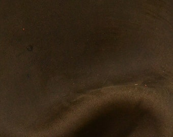 "Grunge Ash Brown Leather Oil Tanned Cowhide 4"" x 6"" Project Piece 4 1/2-5 ounces TA-50507 (Sec. 3,Shelf 6,C,Box 1)"