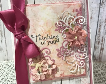 Thinking of You - Handmade Card
