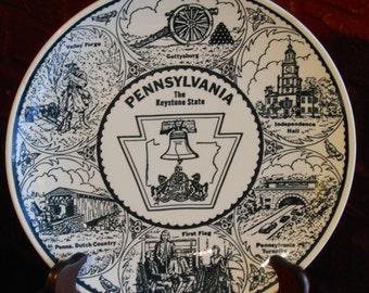 Pennsylvania: The Keystone State. Made Expressly for Howard Johnson