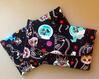 Items Similar To Day Of The Dead Hello Kitty Magnets Set