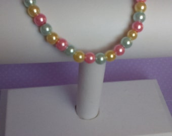 Beautiful Pastel Pearl Bracelet