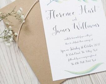 DIY print your own printable bespoke invitations