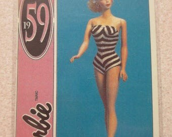 NEW! BARBIE 1959 Retro Vintage high quality fridge magnet lot #8