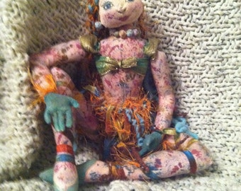 Hand Made Collectable Doll-Bohemian