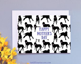 Dog Mother's Day Card, Mother's Day Dog Card, Mum Dog card, Dog mother,  Happy Mother's Day Card