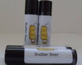 Butter Beer Flavored Lip Balm