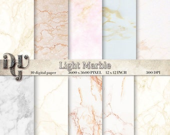 WHITE MARBLE digital paper, light colors and pattern. Natural Marble Photo Digital Paper, Marble Photo Background, Stone Photo Backdrops 127