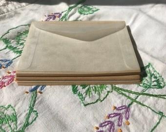 Aged Glassine envelopes 25 pc Set 1