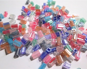 250 Glass Multi-Colored Beads