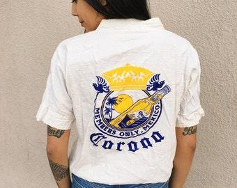 Rare! Vintage Corona Extra Canvas Top