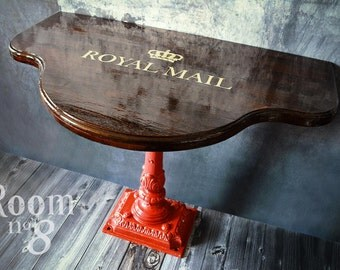 Room No. 8-Unique console table Royal Mail