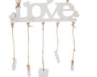 Valentine Gift! Decorative hang photos. Love