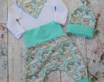 Peedie Boo Baby Gift Set....Tubby Unicorns