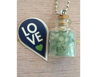 "Green Adventurine "" Stone of Oportunity"""