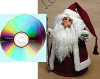 A SANTA  PLAYSHOP-DVDS - Santa Playshop Class on 2 dvd's by Maureen Carlson.
