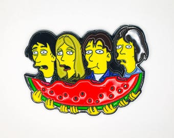 Watermelon Soft Enamel Pin