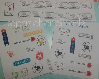 STICKERS SNAIL MAIL