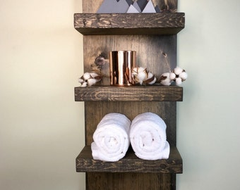 rustic bathroom shelves mountain cabin shelves