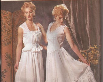 Simplicity 5905 Misses Undergarments 1900-1910 Costumes. Size 6-8-10-12. Vintage 2002